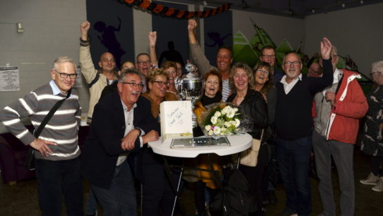 Uitblinker Groot Venlo 2019 voor vrijwilligers Buitenbad Blerick.